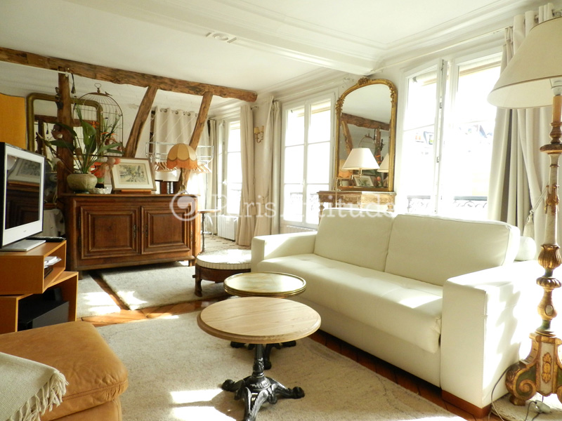 Rent Paris  Apartment 2 Bedroom 81 m² Grands Boulevards - rue du Faubourg Poissonniere 75010 Paris