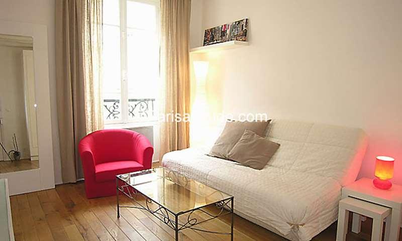 Rent Apartment 1 Bedroom 27m² rue Sedaine, 11 Paris