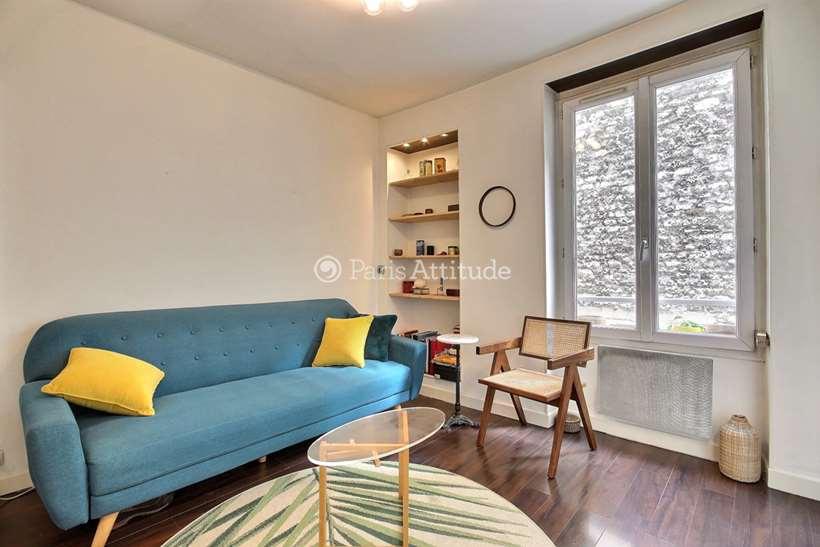Aluguel Apartamento mobiliado Studio 30m² rue du Mont Cenis, 75018 Paris