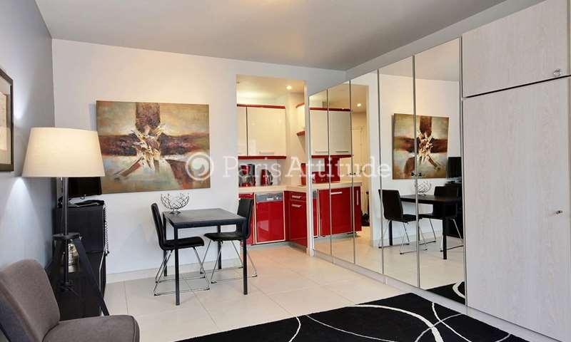 Rent Apartment Studio 30m² rue Andre Danjon, 19 Paris