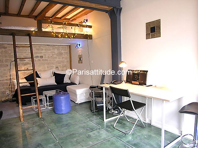 Location Appartement Studio 21m² rue de la Clef, 75005 Paris