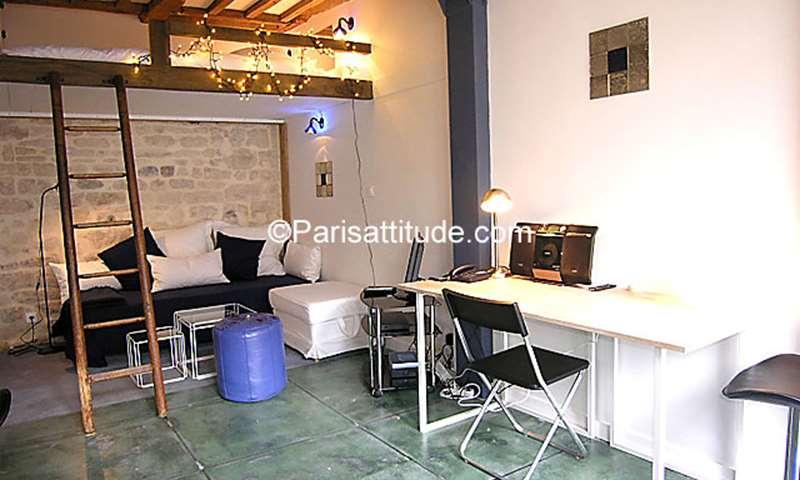 Location Appartement Studio 21m² rue de la Clef, 5 Paris