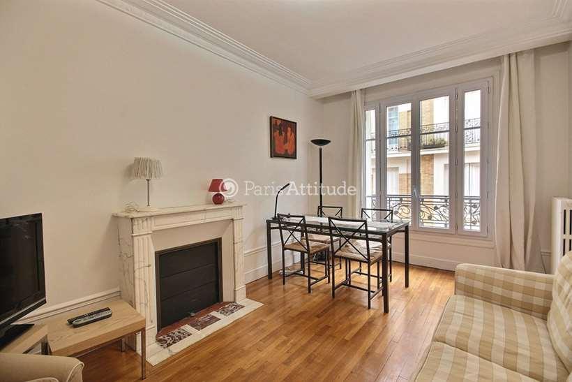 Rent furnished Apartment 2 Bedrooms 58m² rue Geoffroy Saint Hilaire, 75005 Paris