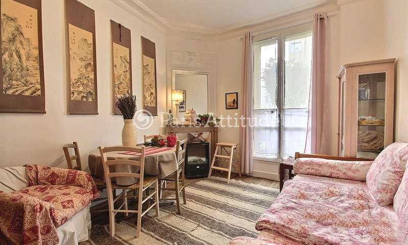 Rent Apartment 1 Bedroom 39m² rue de la Chine, 75020 Paris