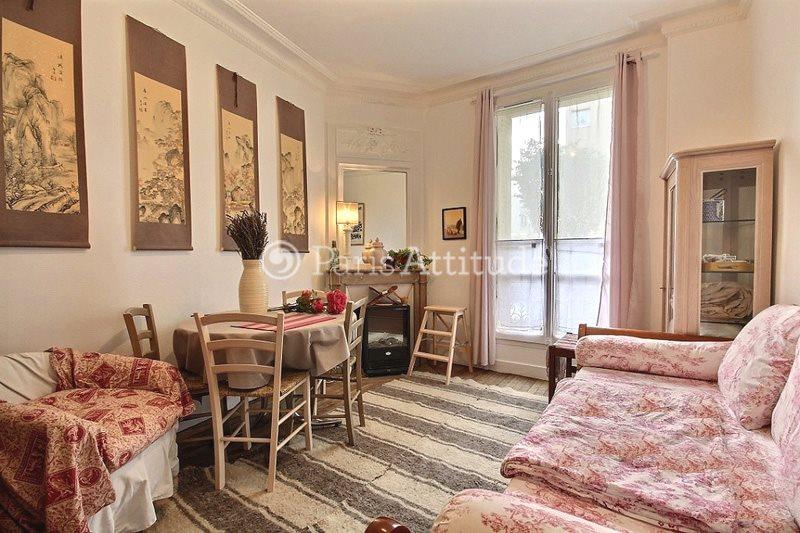 Rent furnished Apartment 1 Bedroom 39m² rue de la Chine, 75020 Paris