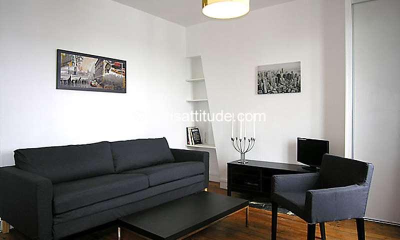 Rent Apartment Studio 22m² rue de la Fontaine Au Roi, 75011 Paris