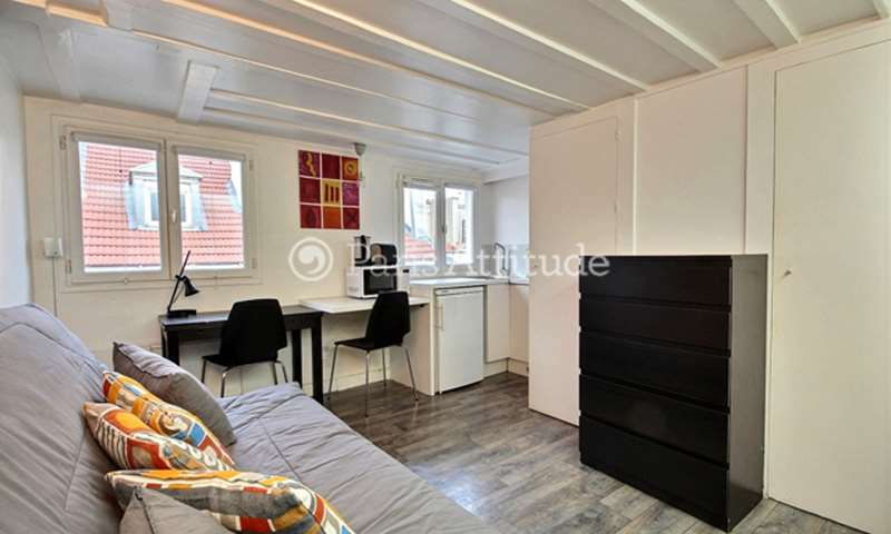 Location Appartement Studio 16m² rue de Tracy, 2 Paris