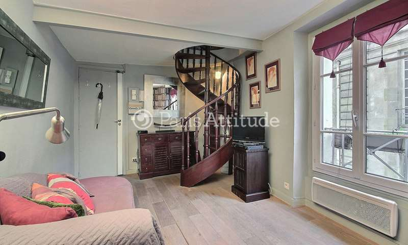 Rent Duplex 1 Bedroom 30m² rue Vieille du Temple, 3 Paris