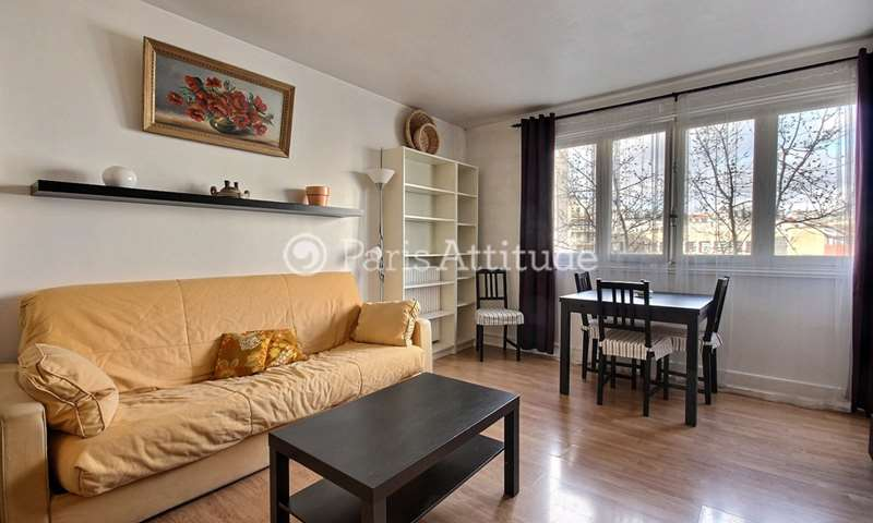 Rent Apartment Studio 32m² rue de Tolbiac, 13 Paris