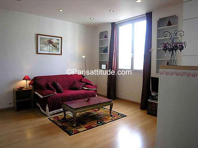 Louer Appartement meublé Studio 28m² rue des Peupliers, 92100 Boulogne Billancourt