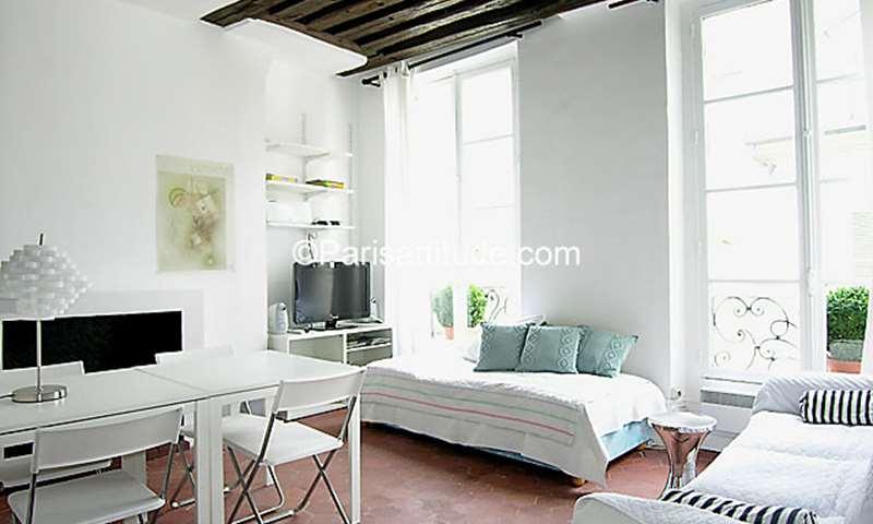Rent Apartment Studio 25m² rue des Tournelles, 4 Paris