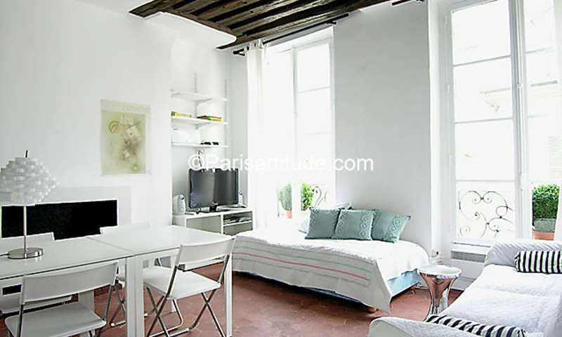 Location Appartement Studio 25m² rue des Tournelles, 75004 Paris