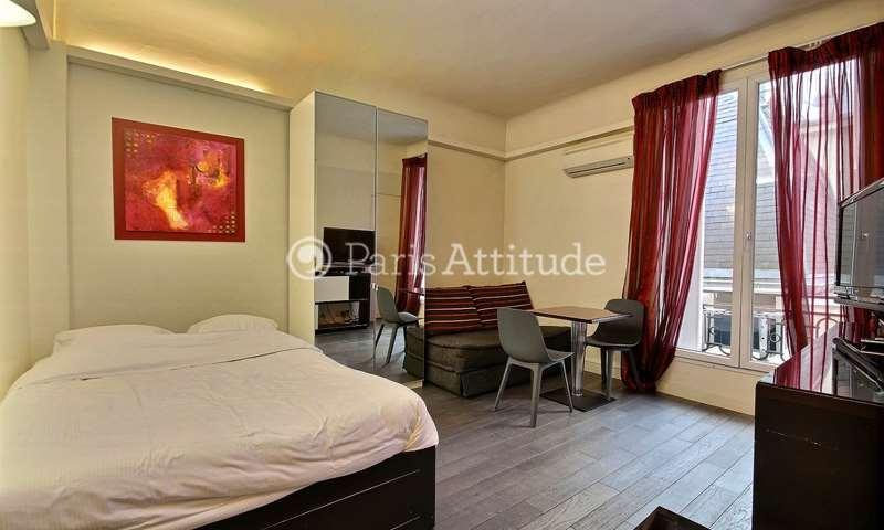 Rent Apartment Studio 24m² avenue des Champs elysees, 8 Paris