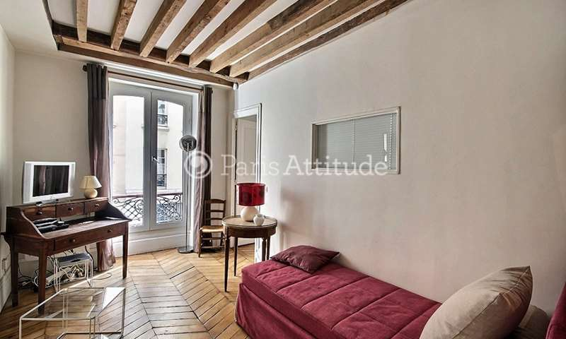 Rent Apartment 1 Bedroom 30m² rue des Tournelles, 4 Paris
