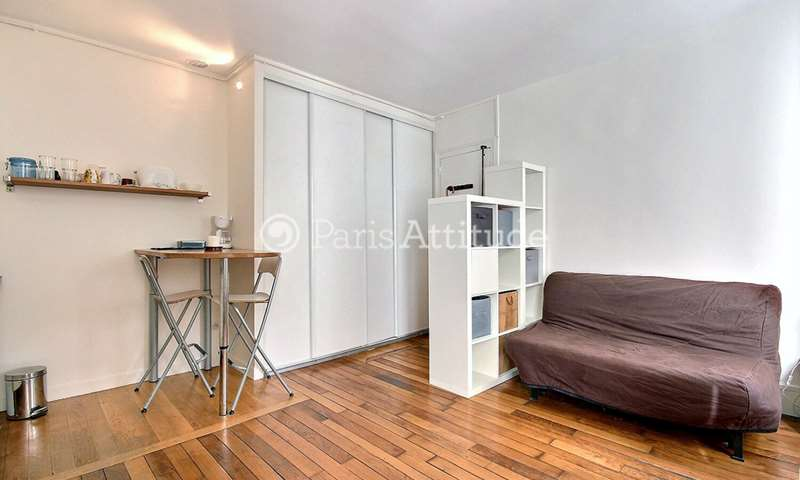 Rent Apartment Studio 20m² rue Muller, 18 Paris