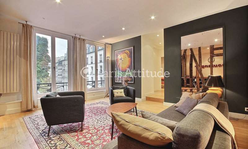 Rent Apartment 2 Bedroom 120m² rue d Aboukir, 75002 Paris