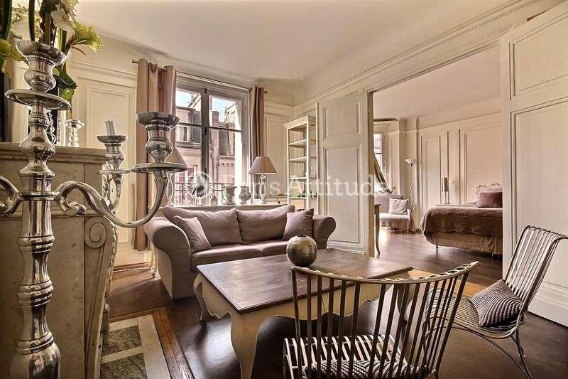 Rent furnished Apartment 1 Bedroom 57m² rue Quentin Bauchart, 75008 Paris