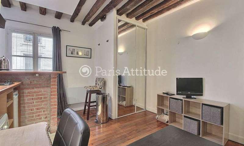 Rent Apartment Studio 20m² rue Sauval, 1 Paris