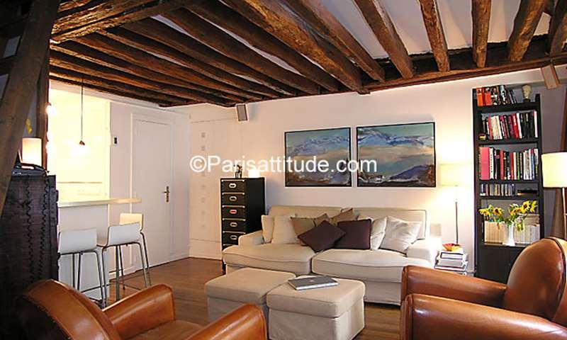 Location Appartement 1 Chambre 43m² rue Saint Denis, 1 Paris