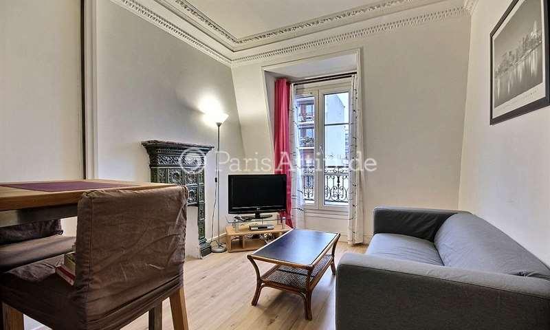 Rent Apartment 1 Bedroom 30m² rue Victor Letalle, 20 Paris