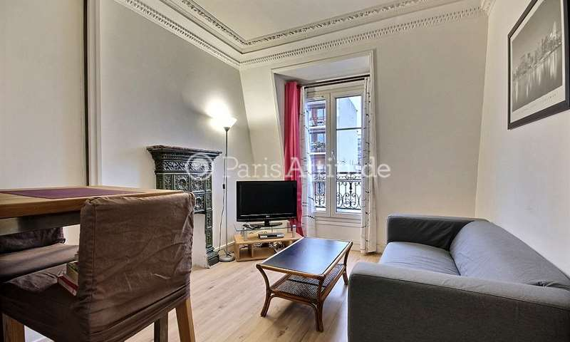 Rent Apartment 1 Bedroom 30m² rue Victor Letalle, 75020 Paris