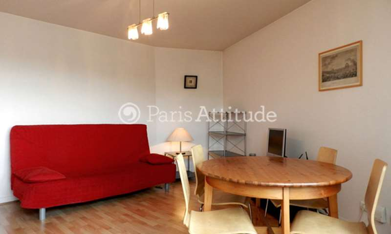 Rent Apartment 1 Bedroom 45m² rue Compans, 19 Paris