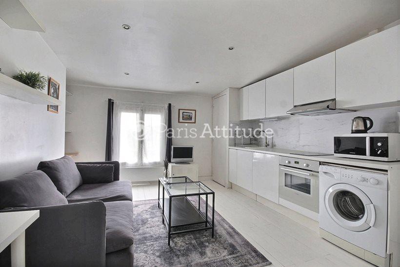 Rent furnished Apartment 1 Bedroom 25m² rue d Aboukir, 75002 Paris
