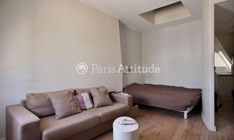 Location Appartement Alcove Studio 30m² rue Saint Honore, 1 Paris