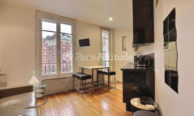 Rent Apartment 1 Bedroom 30m² rue du Poteau, 75018 Paris