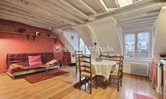 Rent Duplex 2 Bedrooms 40m² rue de Rochechouart, 9 Paris