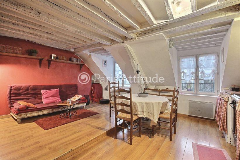 Aluguel Duplex mobiliado 2 quartos 40m² rue de Rochechouart, 75009 Paris