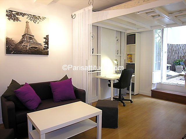 Rent Apartment 1 Bedroom 30m² Villa du Mont Tonnerre, 75015 Paris