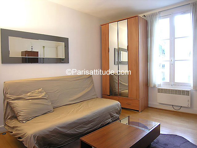 Apartment Studio 22 m² Parc Monceau