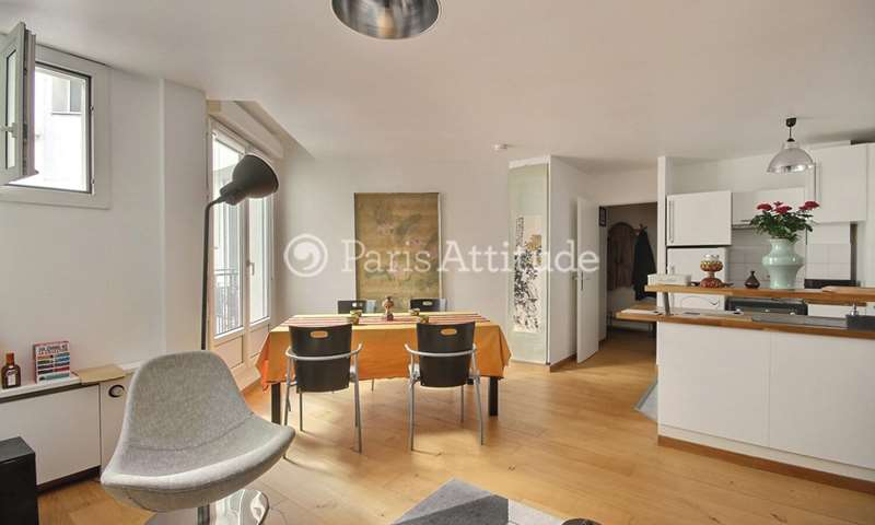 Rent Apartment 1 Bedroom 53m² rue Marie Stuart, 2 Paris