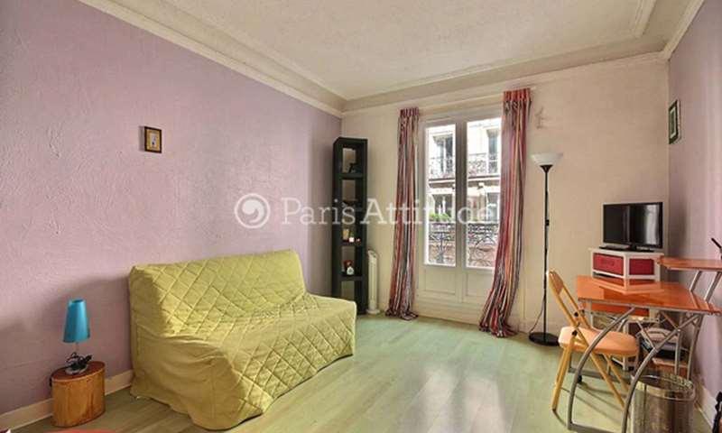 Rent Apartment Studio 20m² rue Camille Desmoulins, 75011 Paris