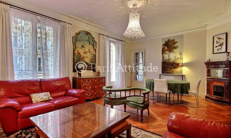 Rent Apartment 2 Bedrooms 77m² rue de Constantinople, 75008 Paris