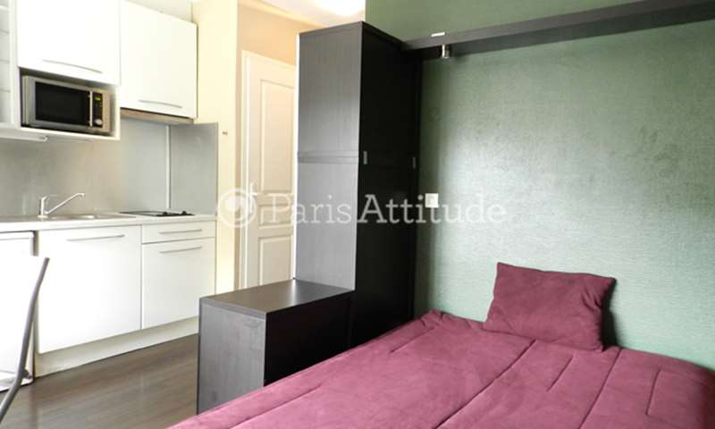 Rent Apartment Studio 20m² rue Mademoiselle, 15 Paris