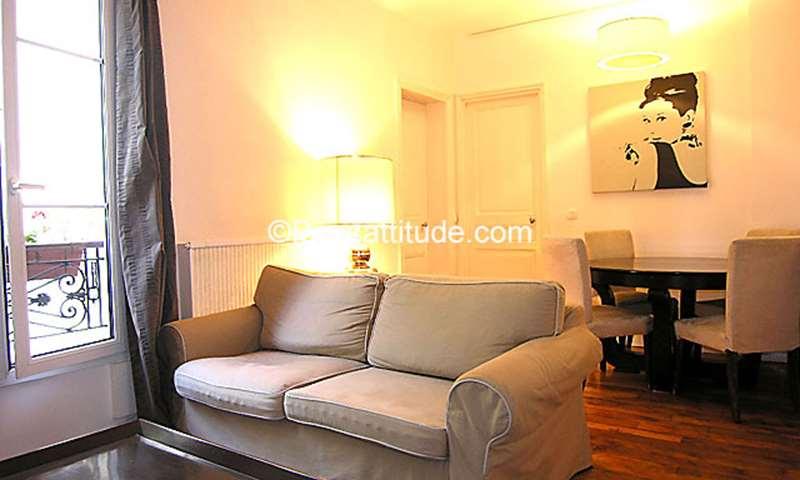Rent Apartment 2 Bedrooms 72m² rue Cardinet, 17 Paris
