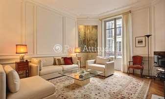 Location Appartement 2 Chambres 110m² rue du Quatre Septembre, 2 Paris
