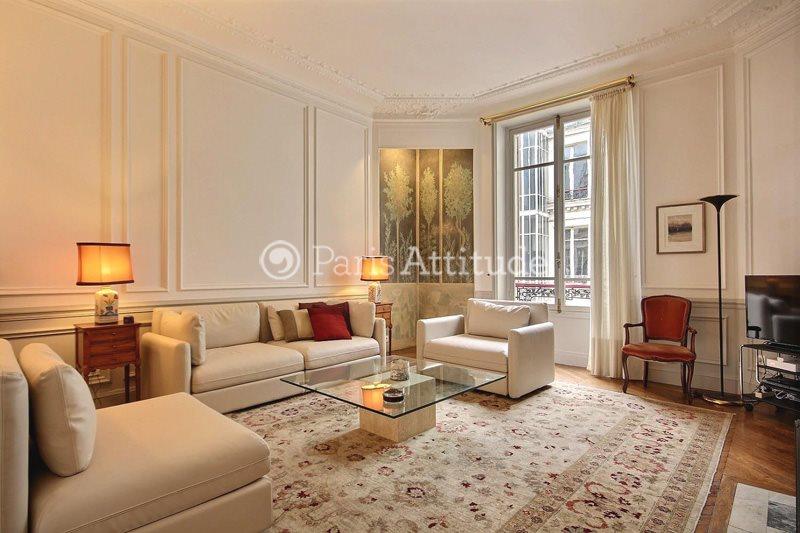 Rent furnished Apartment 2 Bedrooms 110m² rue du Quatre Septembre, 75002 Paris