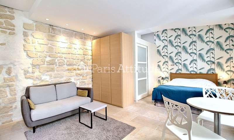 Rent Apartment Studio 27m² rue de l eglise, 92200 Neuilly sur Seine