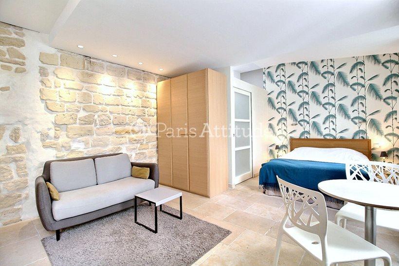 Louer Appartement meublé Studio 27m² rue de l eglise, 92200 Neuilly sur Seine