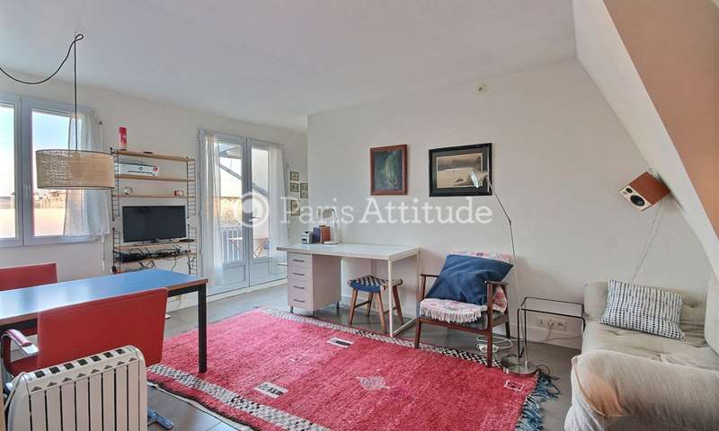 Rent Apartment 1 Bedroom 33m² rue Saint Maur, 75010 Paris