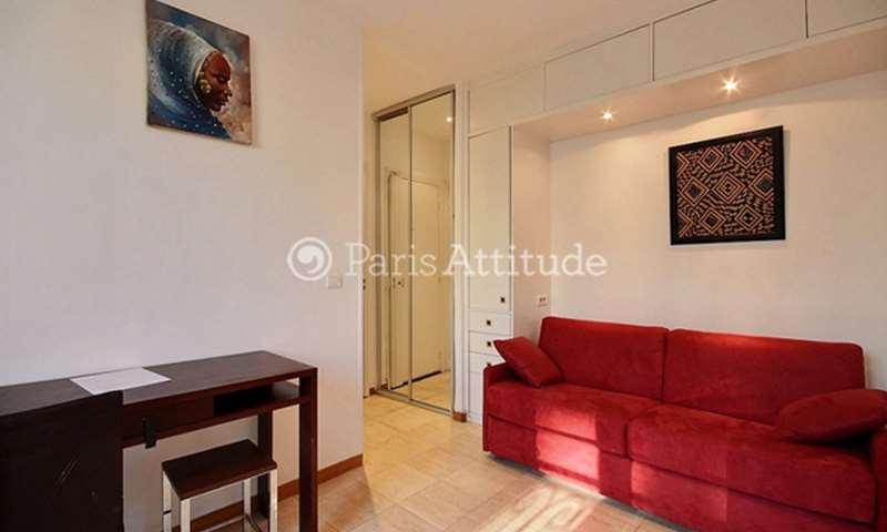 Rent Apartment Studio 18m² avenue Carnot, 75017 Paris