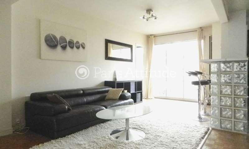 Rent Apartment 1 Bedroom 52m² avenue emile Bergerat, 16 Paris