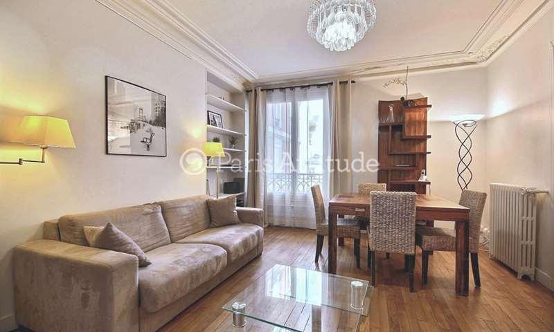 Rent Apartment 2 Bedrooms 75m² rue Poncelet, 17 Paris