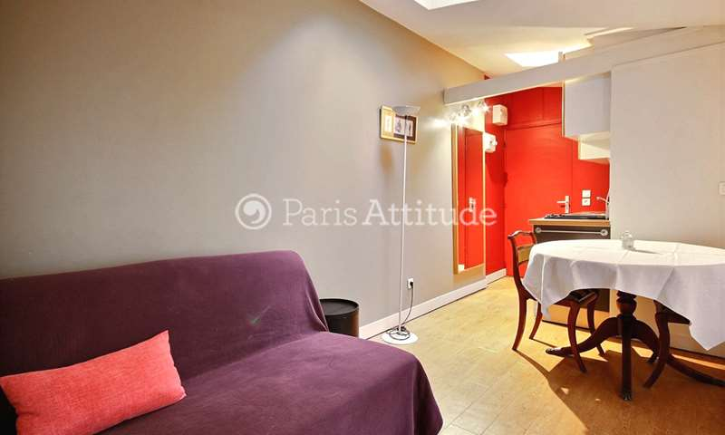 Rent Apartment 1 Bedroom 28m² rue de La Rochefoucauld, 9 Paris
