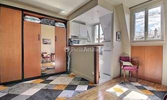 Rent Apartment Studio 25m² rue de Courcelles, 17 Paris