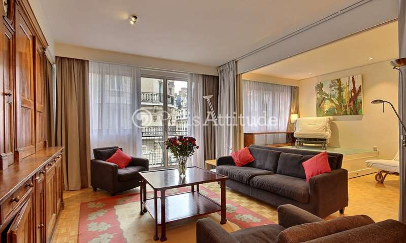 Rent Apartment 2 Bedrooms 90m² rue des Acacias, 17 Paris