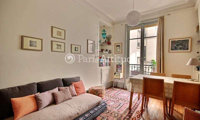 Location Appartement 1 Chambre 38m² rue Tardieu, 75018 Paris